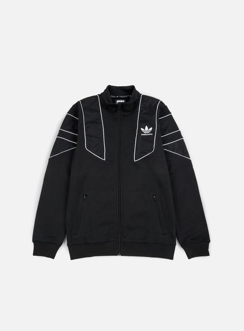 felpe adidas skateboarding eqt track jacket black