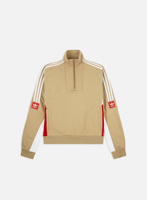 Felpe con Zip Adidas Skateboarding Modular Fleece Mock Neck