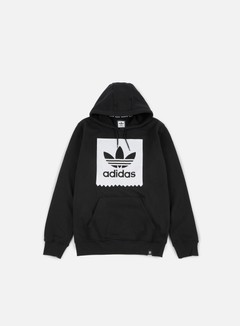 Adidas Skateboarding - Solid BB Hoodie, Black/White 1
