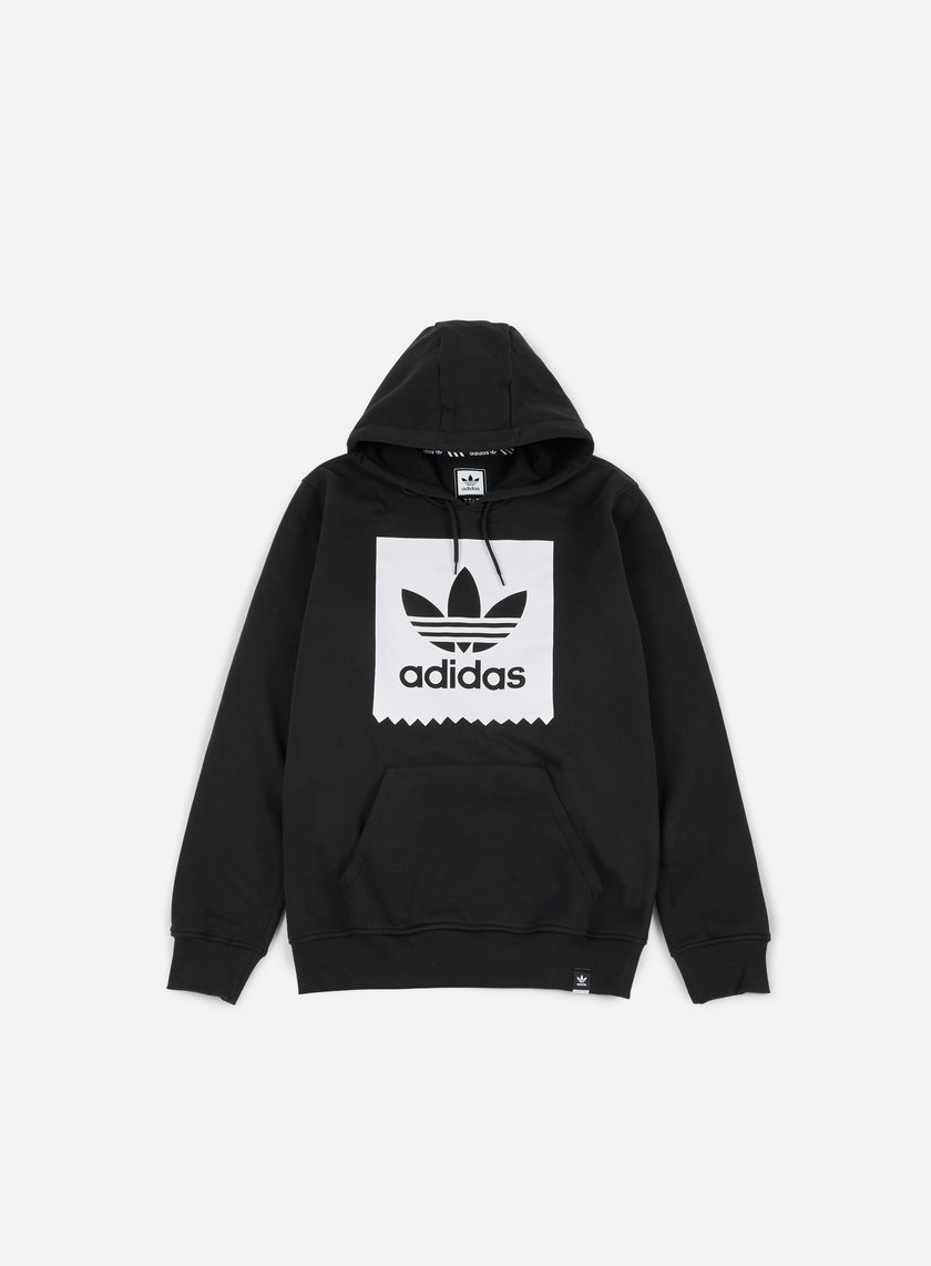 Adidas Skateboarding - Solid BB Hoodie, Black/White