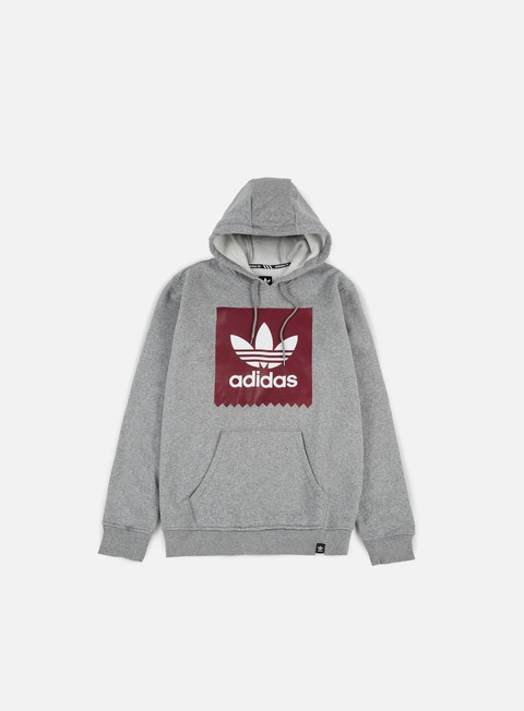 felpe adidas skateboarding solid bb hoodie core heather collegiate burgundy