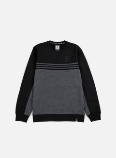 Adidas Skateboarding - Toolkit Crewneck, Black/Dark Grey Heather 1