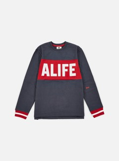 Alife - Blocked Box Crewneck, Eclipse Blue 1