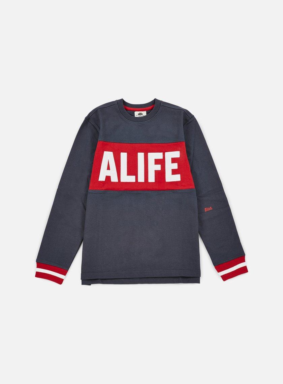 Alife Blocked Box Crewneck