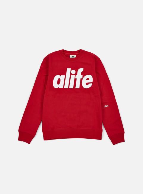 Outlet e Saldi Felpe Girocollo Alife Core Logo Crewneck