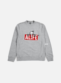 Alife - Kilroy Crewneck, Heather Grey 1