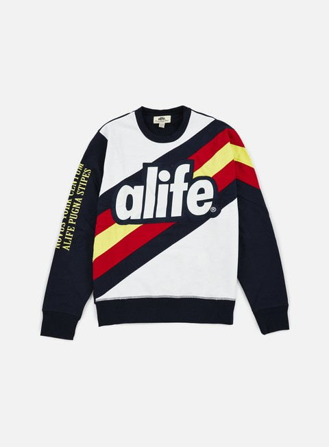 felpe alife world tour crewneck eclipse blue
