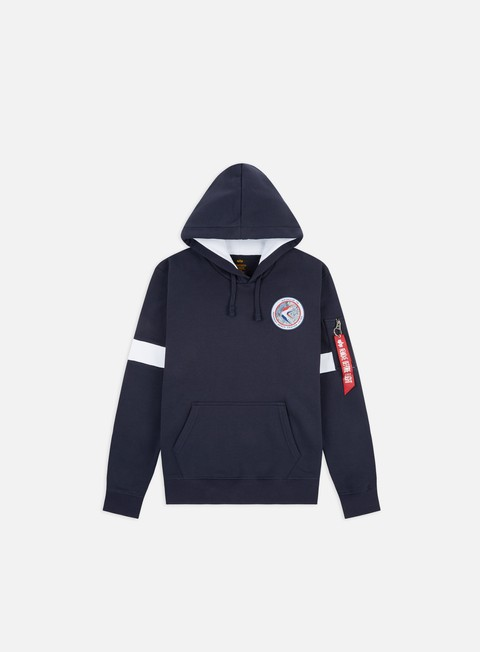 Outlet e Saldi Felpe con Cappuccio Alpha Industries Apollo 15 Hoodie