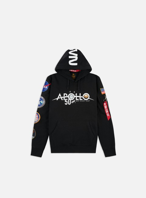Outlet e Saldi Felpe con Cappuccio Alpha Industries Apollo 50 Patch Hoodie