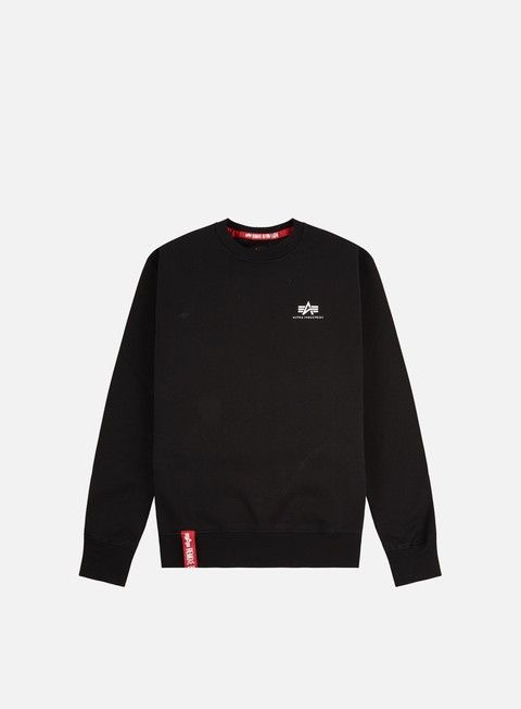 Alpha Industries Basic Small Logo Crewneck
