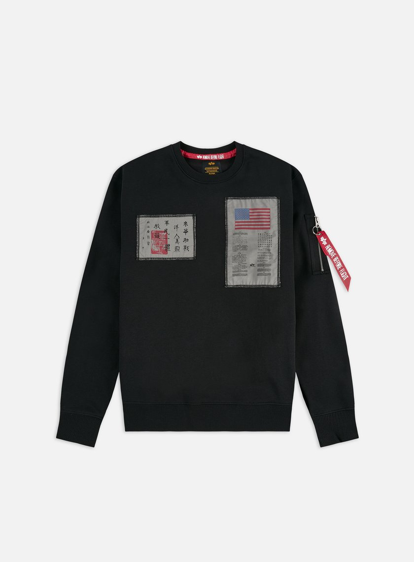 Alpha Industries Blood Chit Crewneck