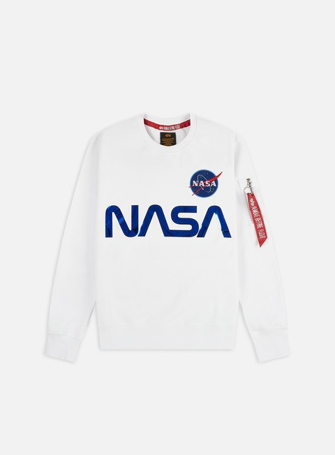 Alpha Industries Nasa Reflective Crewneck