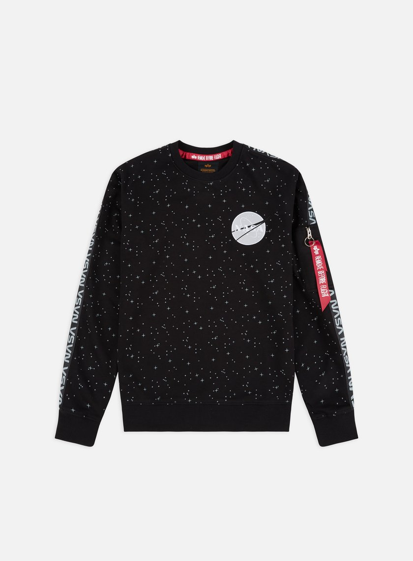 Alpha Industries Nasa Tape Crewneck