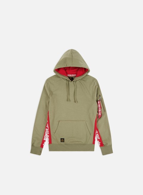Outlet e Saldi Felpe con Cappuccio Alpha Industries RBF Inlay Hoodie