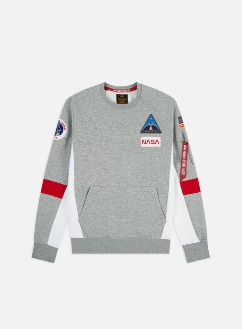 Alpha Industries Space Camp Crewneck
