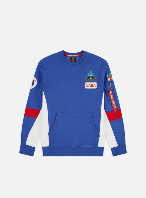Crewneck Sweatshirts Alpha Industries Space Camp Crewneck