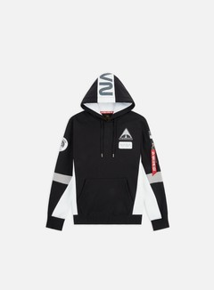 Alpha Industries - Space Camp Hoodie, Black