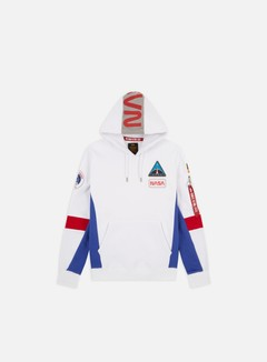 Alpha Industries - Space Camp Hoodie, White