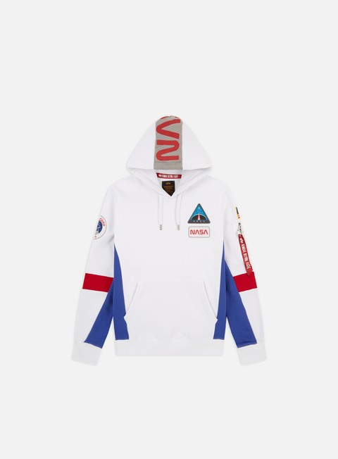 Felpe con Cappuccio Alpha Industries Space Camp Hoodie