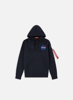Alpha Industries - Space Shuttle Hoodie, Replica Blue 1