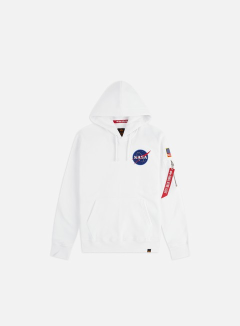 Outlet e Saldi Felpe con Cappuccio Alpha Industries Space Shuttle Hoodie
