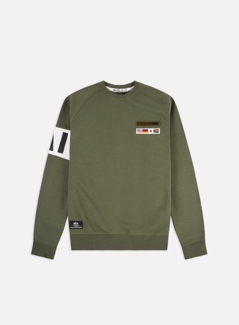 Crewneck Sweatshirts Alpha Industries STP Crewneck