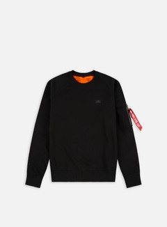 Alpha Industries - X-Fit Crewneck, Black 1