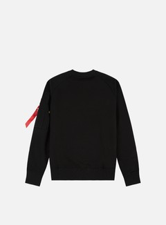Alpha Industries - X-Fit Crewneck, Black 2
