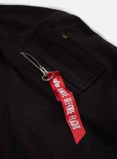 Alpha Industries - X-Fit Crewneck, Black 4
