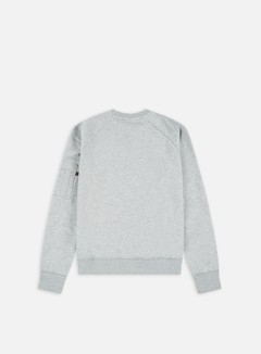 Alpha Industries - X-Fit Crewneck, Grey Heather 2