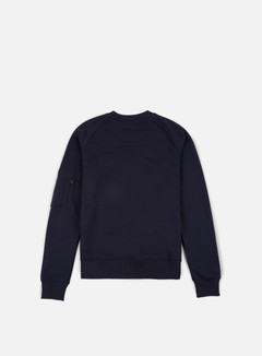 Alpha Industries - X-Fit Crewneck, Replica Blue 2