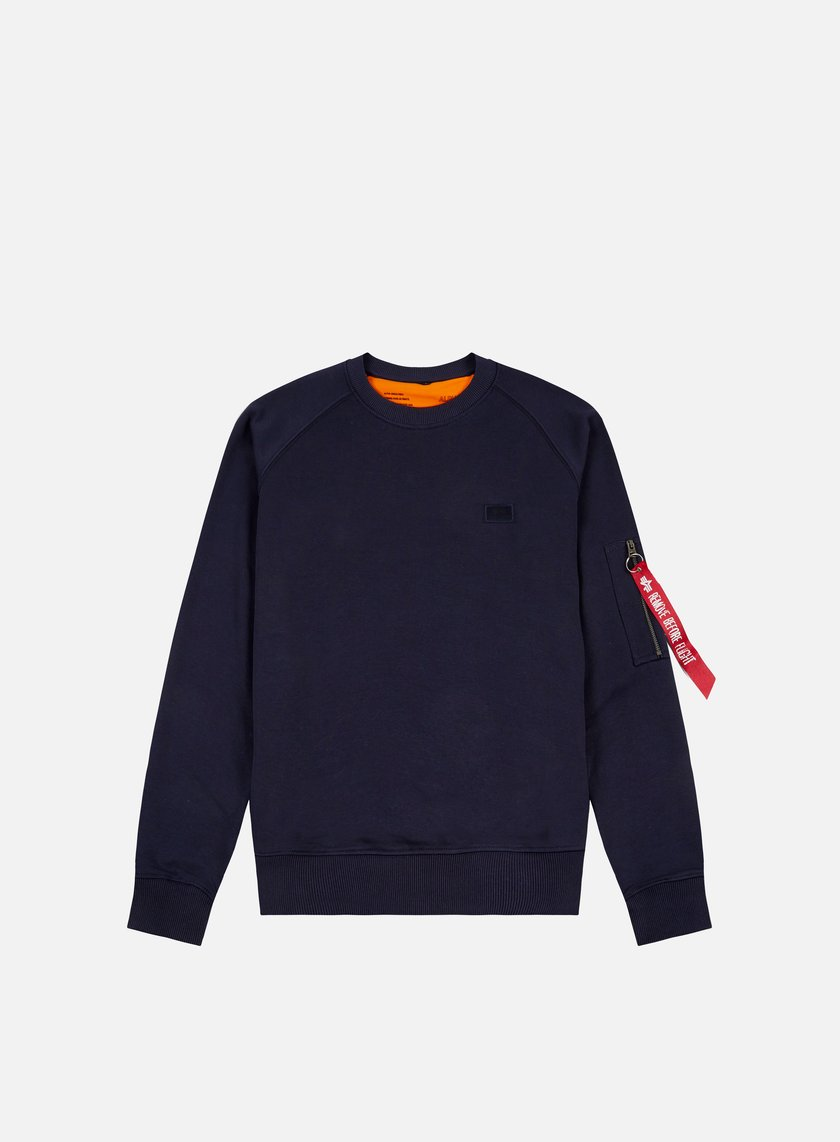 Alpha Industries - X-Fit Crewneck, Replica Blue