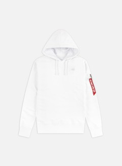 Alpha Industries - X-Fit Hoodie, White