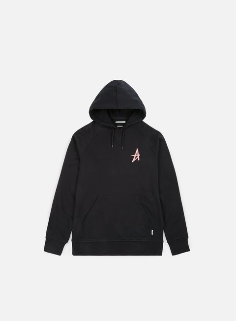 felpe altamont a pullover hoody black peach