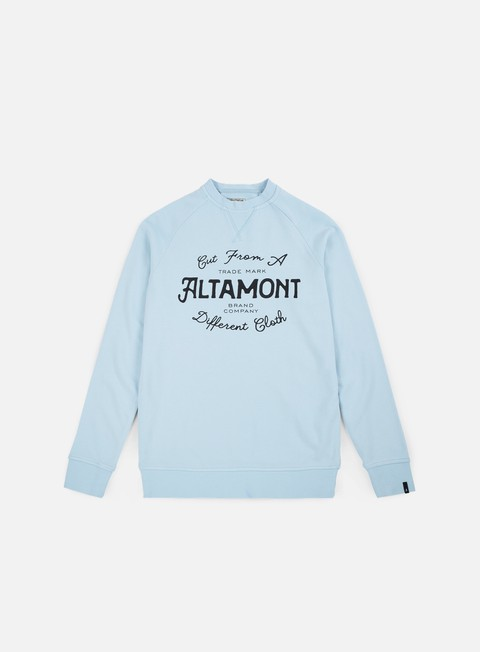 felpe altamont crewed crewneck light blue