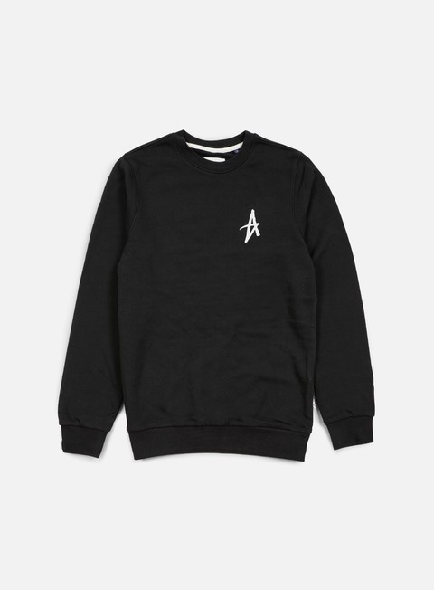 felpe altamont icon crewneck black