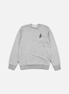 Altamont - Icon Crewneck, Grey Heather