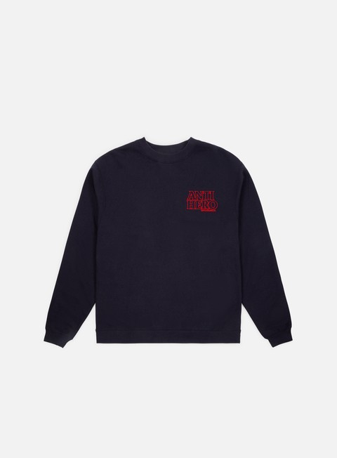 Antihero Outline Hero EMB Crewneck