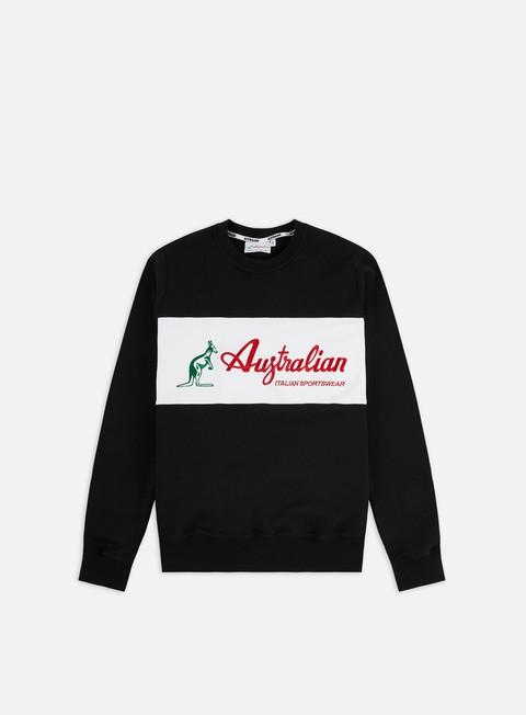 Sale Outlet Crewneck Sweatshirts Australian Basic Logo Crewneck
