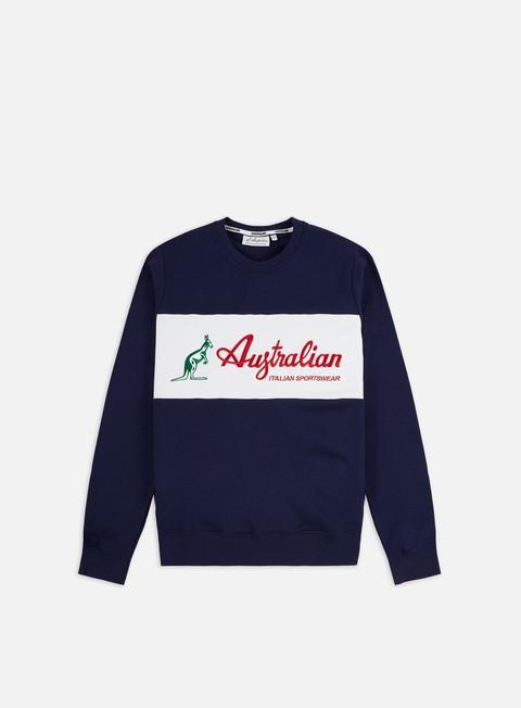 Crewneck Sweatshirts Australian Basic Logo Crewneck
