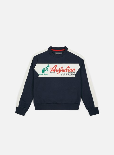 Crewneck Sweatshirts Australian Elio Felpa Crewneck