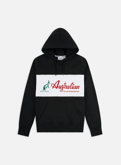Outlet e Saldi Felpe con Cappuccio Australian Embroidery Basic Logo Hoodie