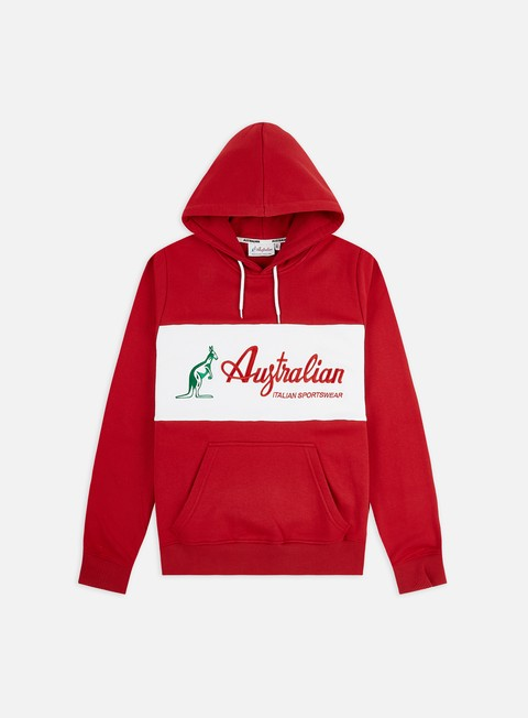 Felpe Logo Australian Embroidery Basic Logo Hoodie