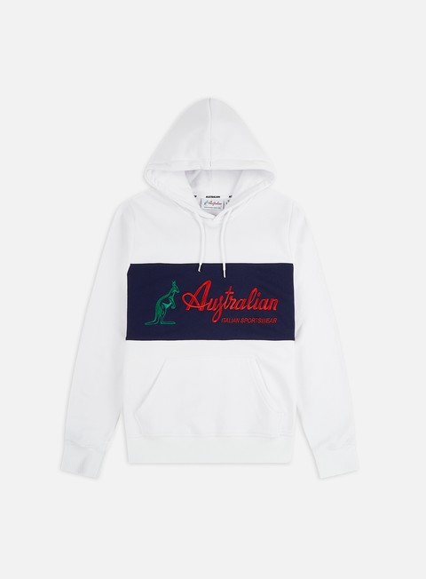 Hooded Sweatshirts Australian Embroidery Basic Logo Hoodie