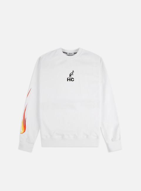 Sale Outlet Crewneck Sweatshirts Australian Fire Ball Crewneck