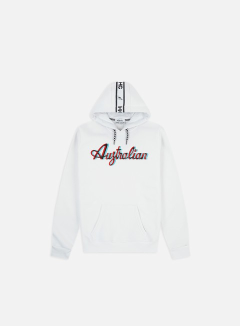 Hooded Sweatshirts Australian HC Back Tape Logo Hoodie