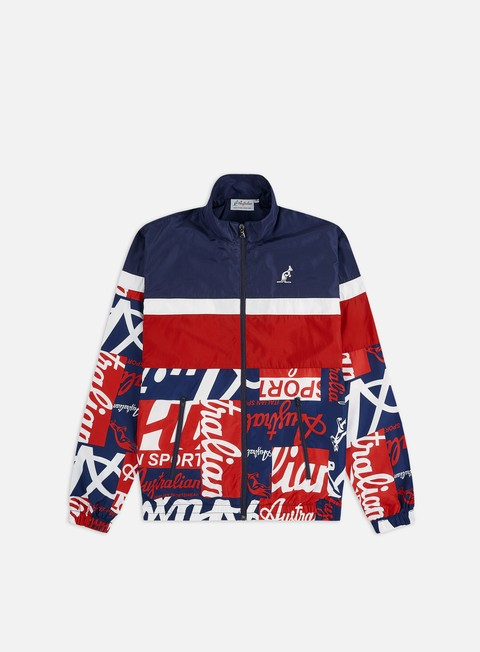 Track Top Australian Printed Smash Jacket