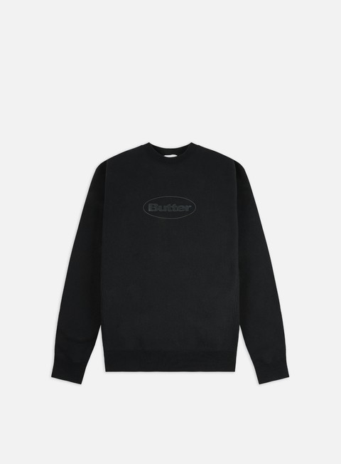 Crewneck Sweatshirts Butter Goods Badge Puff Logo Crewneck