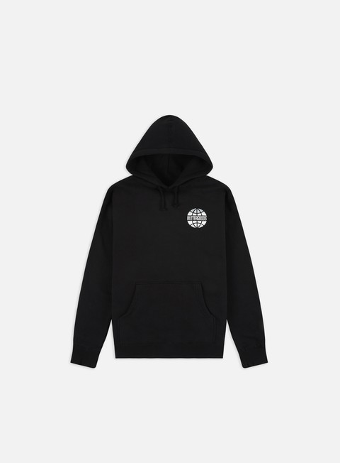 Hooded Sweatshirts Butter Goods Chrome World Wide Hoodie