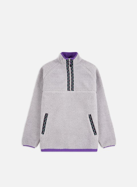 Maglioni e Pile Butter Goods Glacier Sherpa 1/4 Zip Fleece Jacket